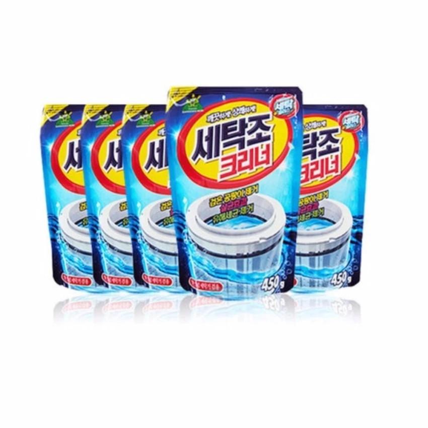 Bộ 5 gói bột tẩy vệ sinh lồng máy giặt 450g - 3235784 , 365653294 , 322_365653294 , 220000 , Bo-5-goi-bot-tay-ve-sinh-long-may-giat-450g-322_365653294 , shopee.vn , Bộ 5 gói bột tẩy vệ sinh lồng máy giặt 450g