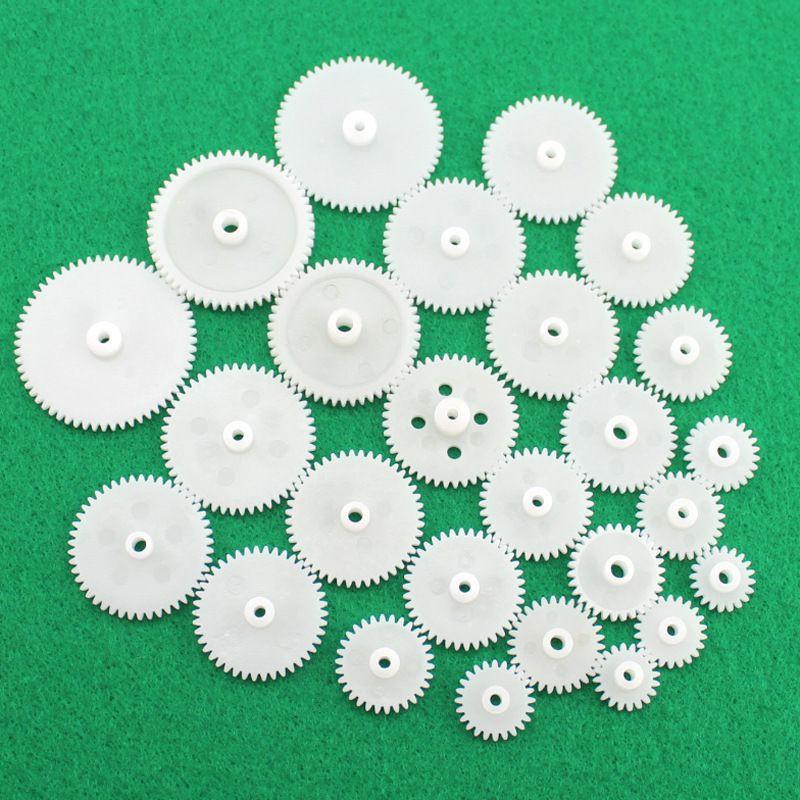 [GIÁ SỐC]Combo 25 loại bánh răng nhựa ABS