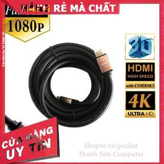 [Mã PC10K20X hoàn đến10K xu] Cáp HDMI Chuẩn 2.0 , 4K Dây Tròn Trơn Cao Cấp – Linh Kiện Phụ Kiện PC Laptop Thanh Sơn