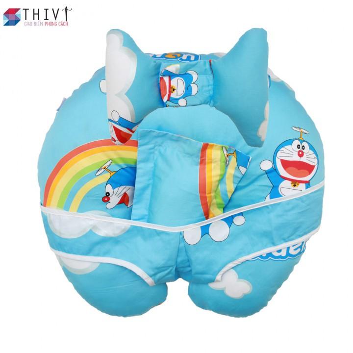 Gối chống trào ngược sữa cho bé 10 THIVI