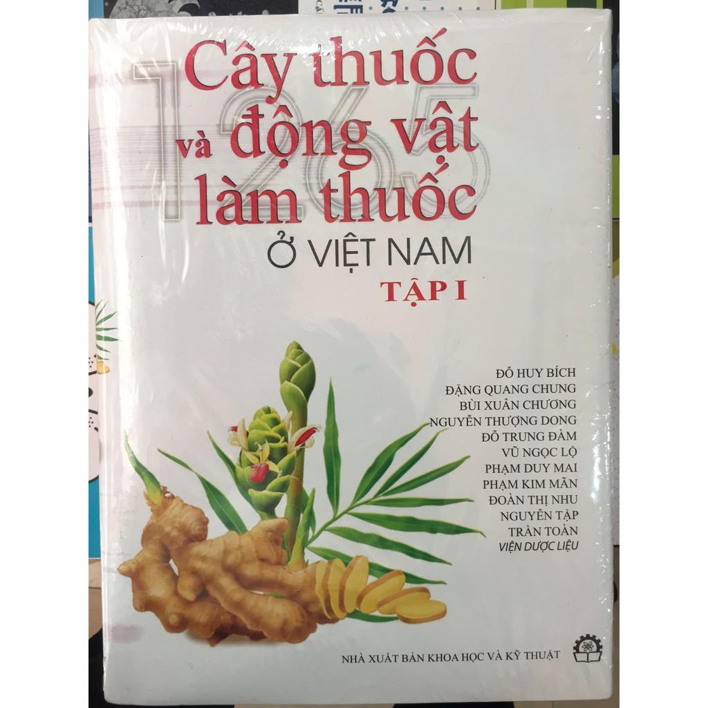 Sách - Cây Thuốc Và Động Vật Làm Thuốc ở Việt Nam tập 1