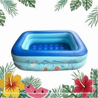 Bể bơi phao 2 tầng cho bé size 115x85x35cm