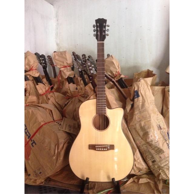 Guitar A140. Acuostic gỗ hồng đào kỹ . Tặng bao da. Tại kho đàn guitar