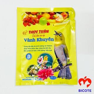 Cám chim khuyên Thúy Tuấn số 0 cao cấp giá rẻ loại gói 100gram thumbnail