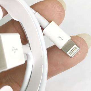 Cáp sạc Iphone ipad Foxconn siêu bền cho IP 5 6 7 8 X 11 dây dài 1m vào điện nhanh không kén máy KLH 3i 5