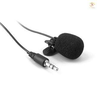 Microphone giắc cắm 3.5mm thiết kế kẹp rảnh tay dành cho điện thoại