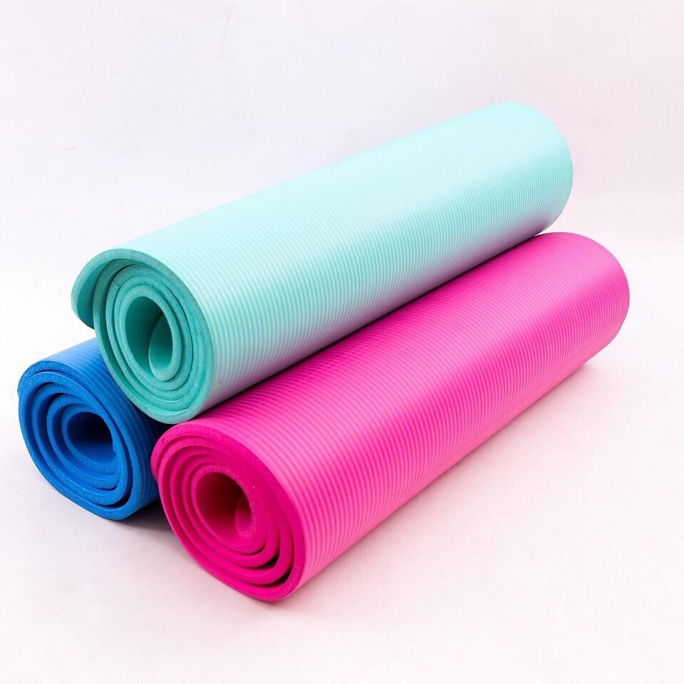 Thảm Tập Yoga Siêu Dày Dặn 10mm Màu Xanh Ngọc - 3125948 , 1276723088 , 322_1276723088 , 165000 , Tham-Tap-Yoga-Sieu-Day-Dan-10mm-Mau-Xanh-Ngoc-322_1276723088 , shopee.vn , Thảm Tập Yoga Siêu Dày Dặn 10mm Màu Xanh Ngọc