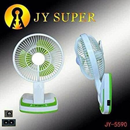 [SALE 10%] Quạt 3 cánh 2 in 1 JY Super JY-5590, JR-5580 có đèn led tiện dụng