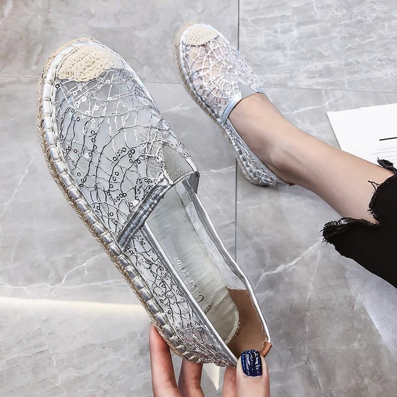 Doudou Shoes Nuchun 2019 New Mesh Air-permeable Braided Fish