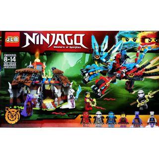 lego ninjago rồng 2 đầu JLB3D28