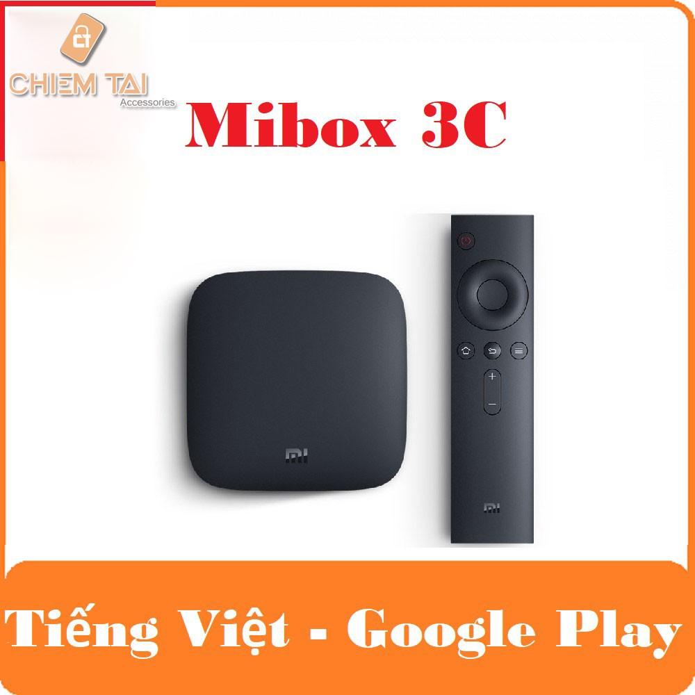 Android TV Mibox gen 3C , 4 Nhân, Ram 1G LPDDR3, Rom 4G (Phiên Bản Tiếng Việt)