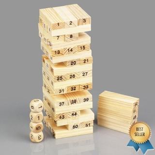 [Nhập TOYAPR10K giảm ngay 10K]Đồ chơi rút gỗ 54 thanh cho bé – RẺ NHẤT HÀ NỘI