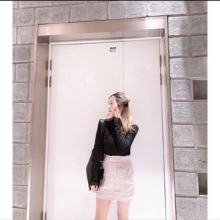 Tí Ngoan Chân váy Tweed