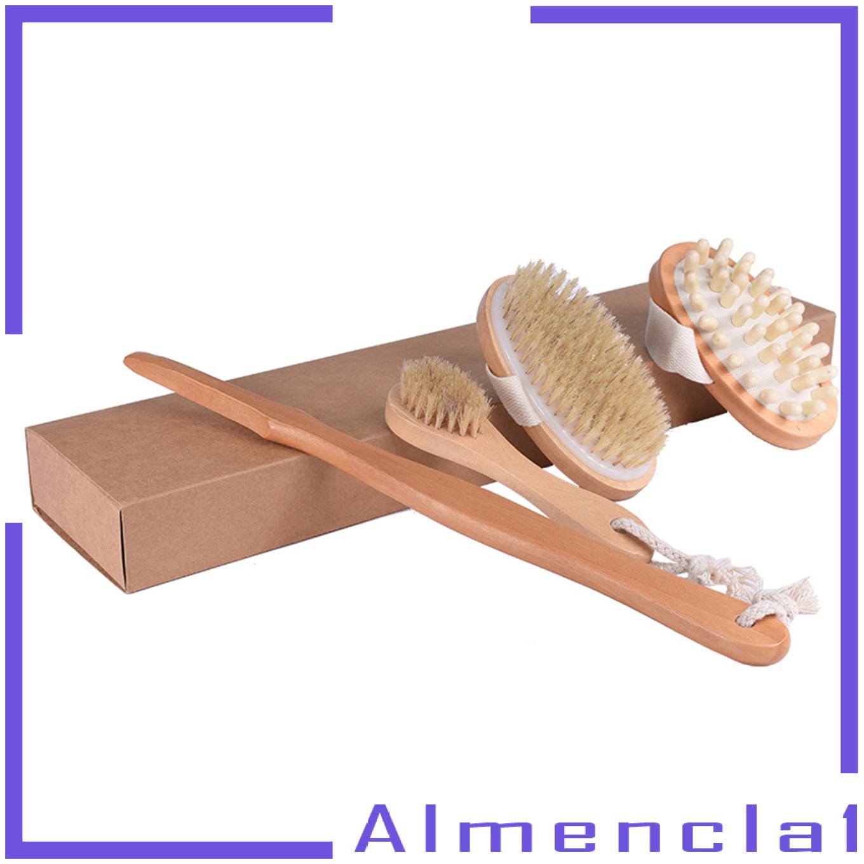 (Hàng Mới Về) 1 Bàn Chải Massage Cơ Thể Dành Cho Nam Và Nữ