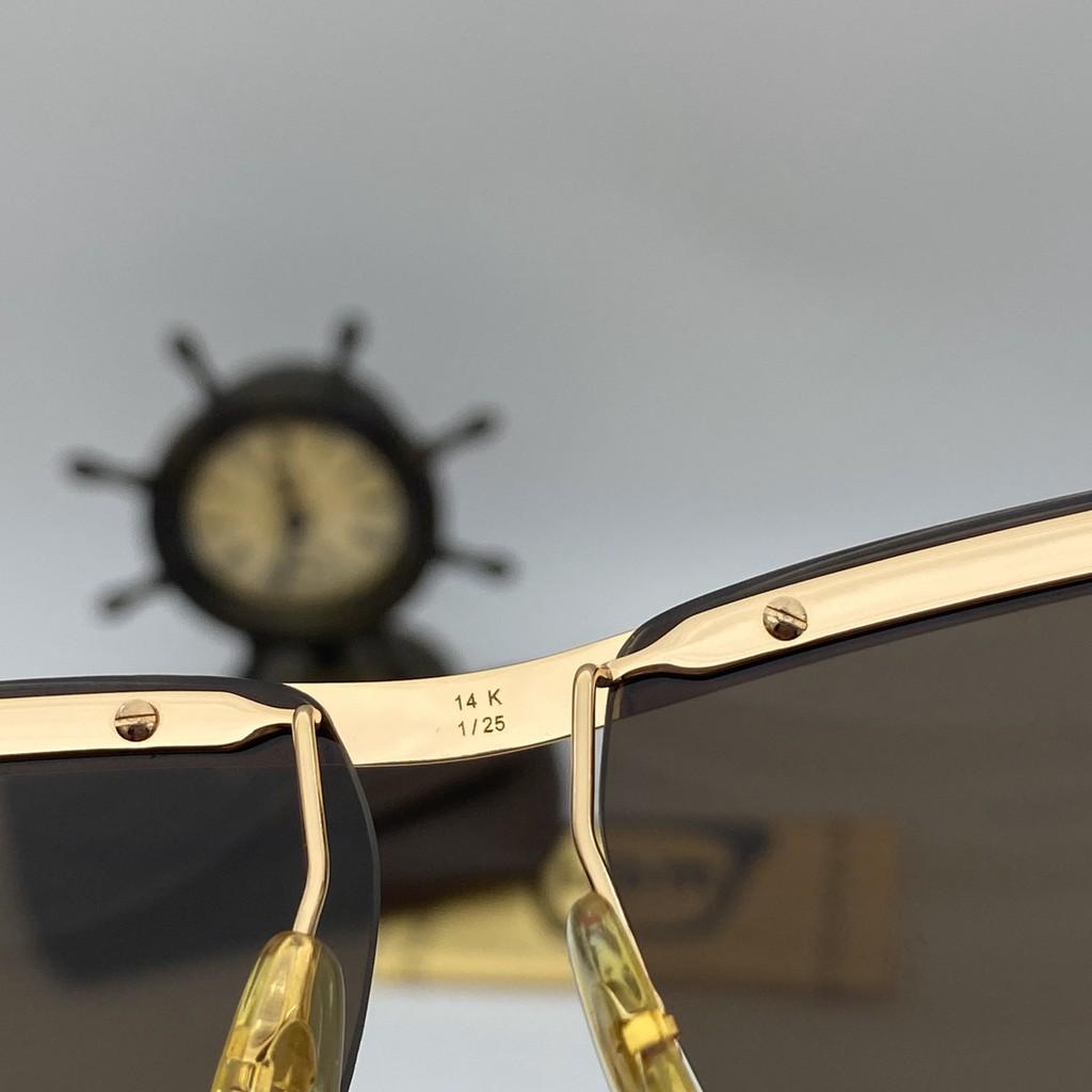 kính solex thước kẻ mạ vàng 14k thời trang