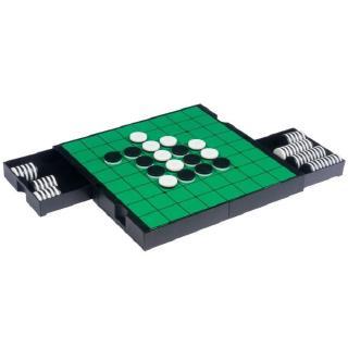"Qiyun 3 in 1 Travel Magnetic Chess, Checkers and Reversi Set – 9-7/8"""