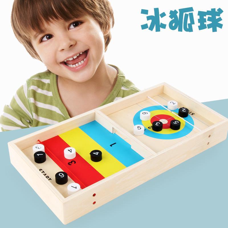 bộ đồ chơi bóng gỗ vui nhộn dành cho trẻ
