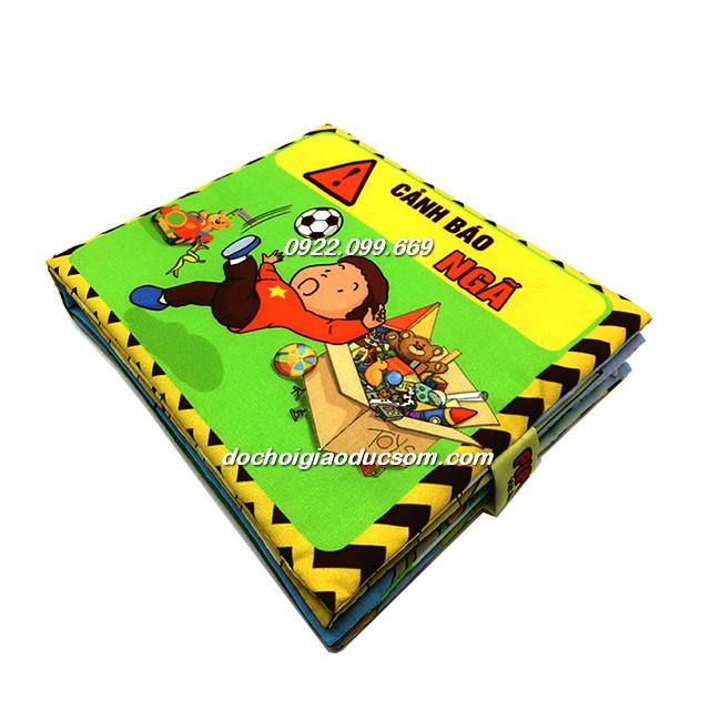 Sách vải Pipo Việt Nam (cảnh báo ngã)