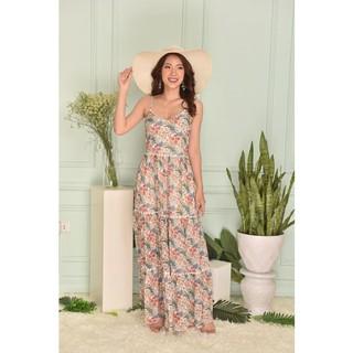 Váy 2 dây họa tiết dáng dài - G Beauty thumbnail
