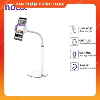 Giá đỡ điện thoại Hoco PH28 để bàn, sử dụng đa năng tiện dụng, tương thích các thiết bị 4.7-7 inch