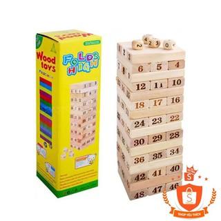 Bộ đồ chơi rút gỗ 48 thanh to – HÀNG CHẤT LƯỢNG CAO