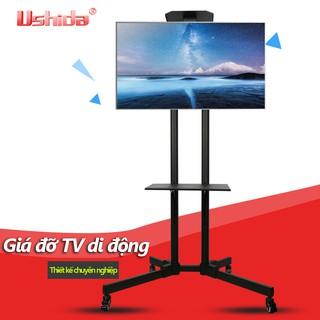 Giá đỡ TV kệ đỡ TV di động lắp TV 32-65 inch có bánh xe H254B