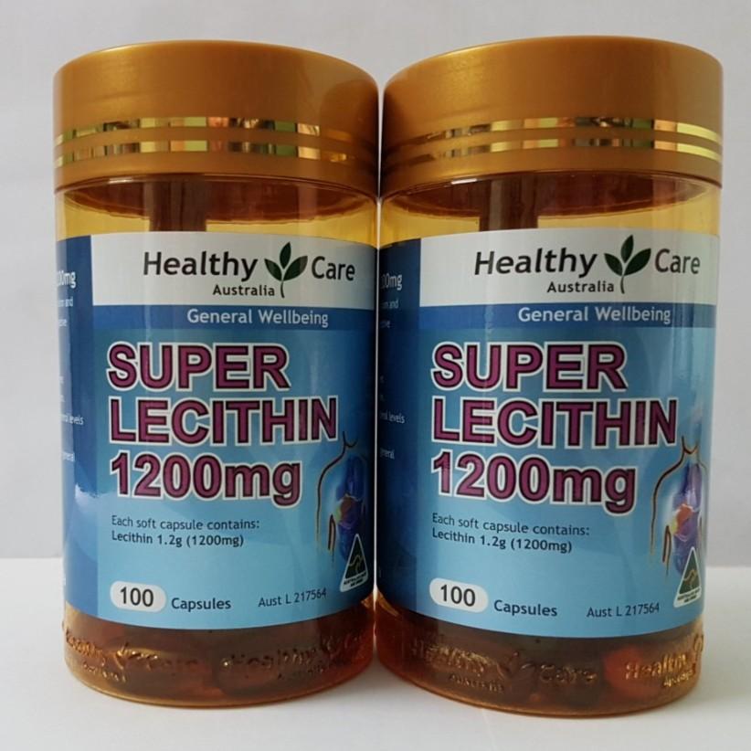 Mầm đậu nành Lecithin Healthy Care 1200mg - 100 viên - 2488661 , 1068200686 , 322_1068200686 , 275000 , Mam-dau-nanh-Lecithin-Healthy-Care-1200mg-100-vien-322_1068200686 , shopee.vn , Mầm đậu nành Lecithin Healthy Care 1200mg - 100 viên