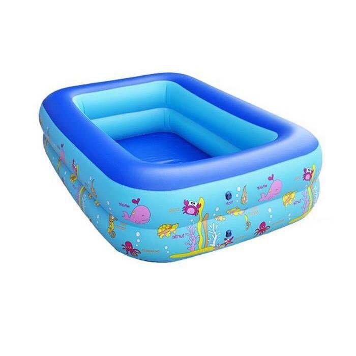 (Hàng chất lượng loại 1) (Hàng loại 1) Bể bơi 2 tầng hình chữ nhật 1,2m (CAM KẾT HÀNG CHÍNH HÃNG)