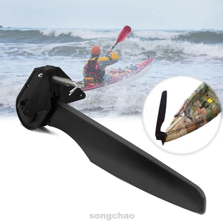 Durable Easy Install Canoe Boat Foot Control Steering System Kayak Rudder