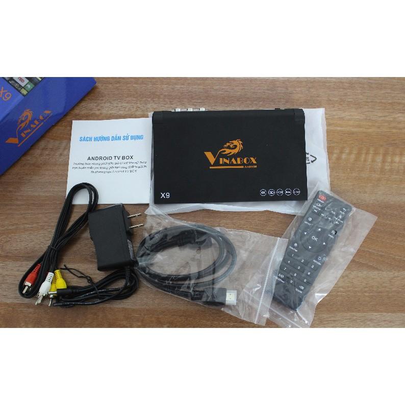 Android TV Box Vinabox X9 Ram 2G -Rom 8G - Thương hiệu Việt - 3452851 , 856388729 , 322_856388729 , 810000 , Android-TV-Box-Vinabox-X9-Ram-2G-Rom-8G-Thuong-hieu-Viet-322_856388729 , shopee.vn , Android TV Box Vinabox X9 Ram 2G -Rom 8G - Thương hiệu Việt