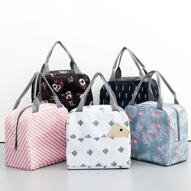 Túi giữ nhiệt. Túi cơm vải chống nước.