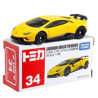 Xe mô hình Takara Tomy Tomica No.34 – Lamborghini Huracan Performante