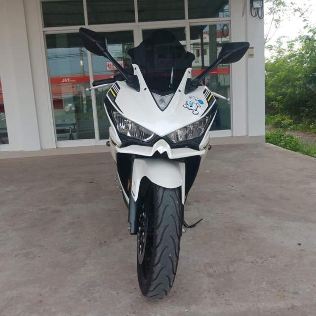 ขาย Yamaha R3 ปี 2017 ไม่ค่อยได้ใช้งานเลขไมล์ 7,084 พร้อมโอน ท่อ akrapovic