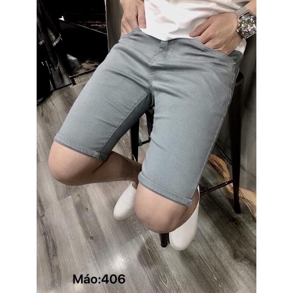 Quần short jean nam cao cấp nhiều màu, mẫu