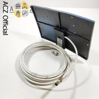 [Mã ELFLASH5 giảm 20K đơn 50K] Anten DVB T2 dạng bảng có dây 15m - thu sóng tốt