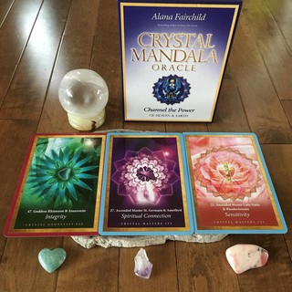 Bộ Bài Crystal Mandala Oracle (Mystic House Tarot Shop) thumbnail