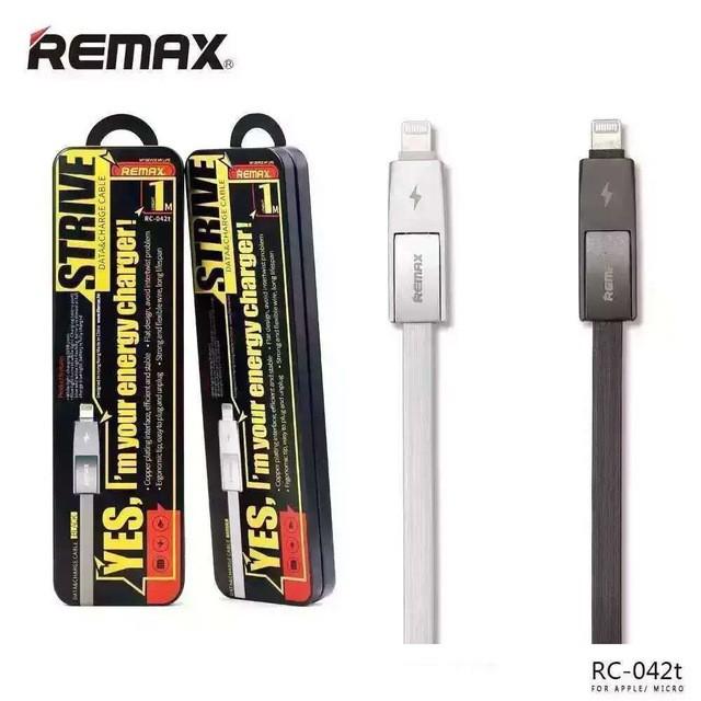 Cáp sạc đa năng 2 trong 1 iPhone và Android Remax RC - 042t - Dây Dẹt Chống Rối - Đèn Led báo đầy - - 3594623 , 1134063962 , 322_1134063962 , 150000 , Cap-sac-da-nang-2-trong-1-iPhone-va-Android-Remax-RC-042t-Day-Det-Chong-Roi-Den-Led-bao-day--322_1134063962 , shopee.vn , Cáp sạc đa năng 2 trong 1 iPhone và Android Remax RC - 042t - Dây Dẹt Chống Rối