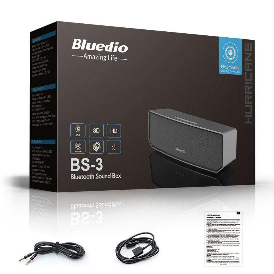Loa bluetooth Bluedio BS3 chính hãng