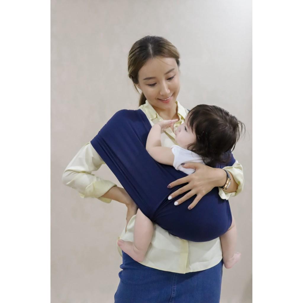 NAVY – Địu em bé – Sử dụng từ 0-24 tháng tuổi – Tiện lợi, dễ mặc, dễ giặt, dễ mang đi, trợ thủ của mẹ