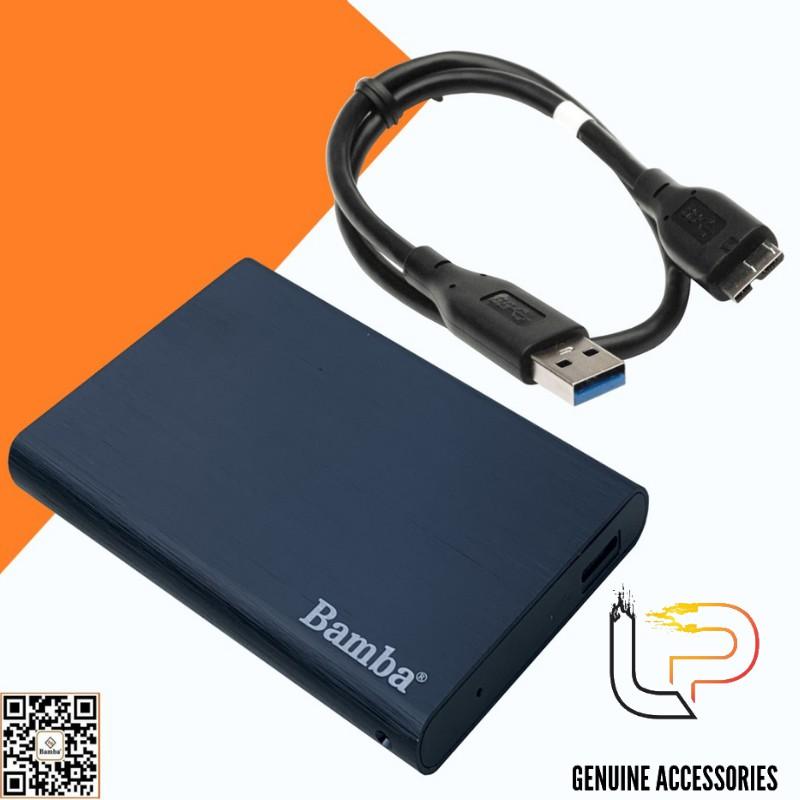 HỘP ĐỰNG Ổ CỨNG HDD,SSD 2.5 BAMBA B4 - BOX HDD,SSD 2.5 CHUẨN 3.0 BAMBA B4