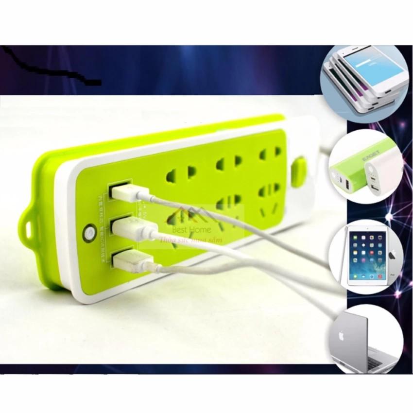 Ổ điện đa năng chống giật siêu thông minh tiện dụng