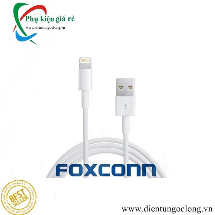 Cáp Lightning FOXCONN Dành Cho Iphone,Ipad 5,6,7,8,X Chính Hãng
