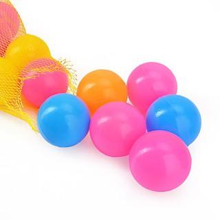(GIÁ HỦY DIỆT) Túi 50 quả bóng nhựa 5cm cho bé chơi nhà bóng – bể bơi – Nhựa nhập Hàn Quốc – Sản xuất tại Việt Nam
