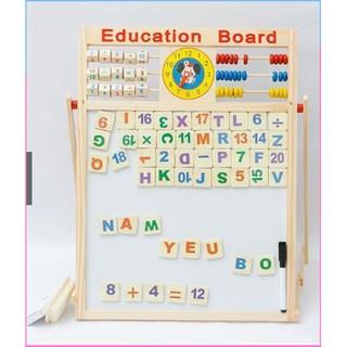 (Cực_Sock)Bảng học toán 2 chữ số 2 mặt cho bé thông minh