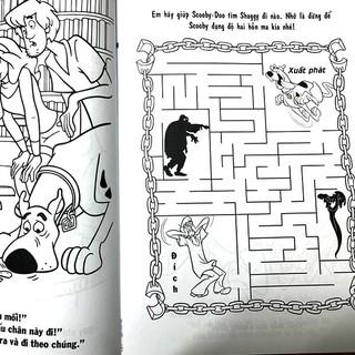 Hình ảnh Sách Bé Chơi Và Tô Màu Cùng Scooby-Dô (2 cuốn)-4