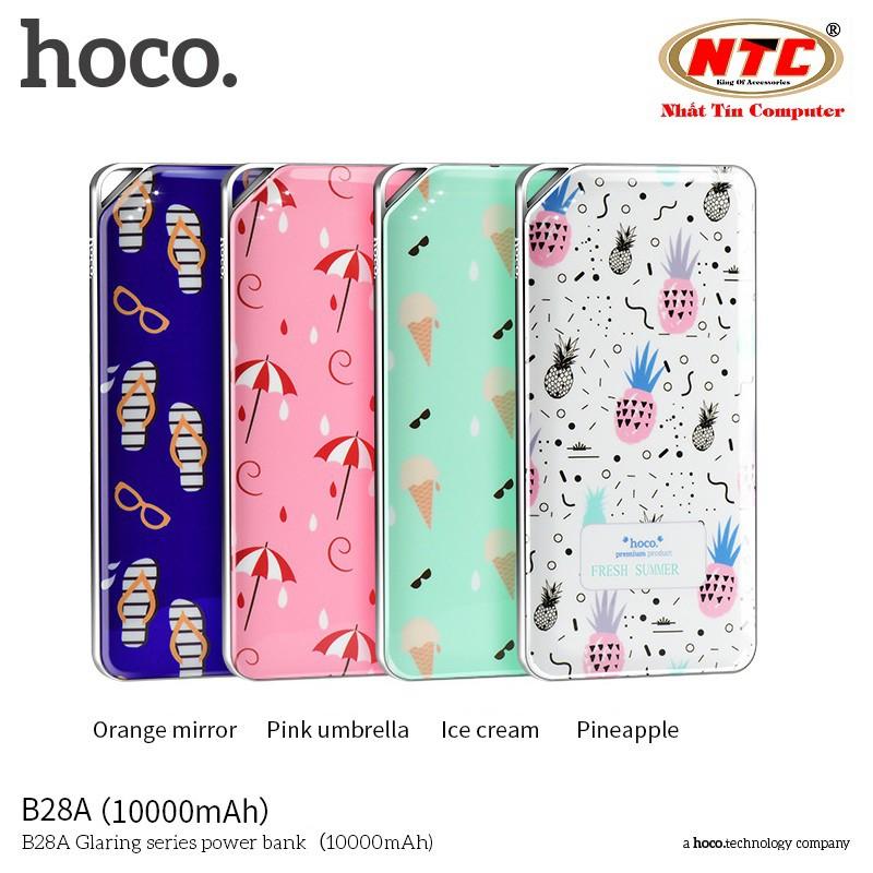 Pin sạc dự phòng Hoco B28A 10000mAh - Glaring Series - Hãng phân phối chính thức