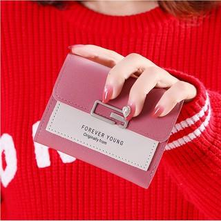 Hình ảnh Ví nữ thời trang ngắn cầm tay mini đẹp MADLEY cao cấp nhiều ngăn nhỏ gọn bỏ túi VD220-4