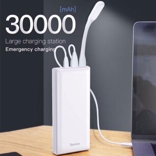 [CHÍNH HÃNG BH-1 năm] PIN SẠC DỰ PHÒNG Baseus Mini JA Power Bank 30000mAh 15W cho Smartphone – Tablet – Macbook