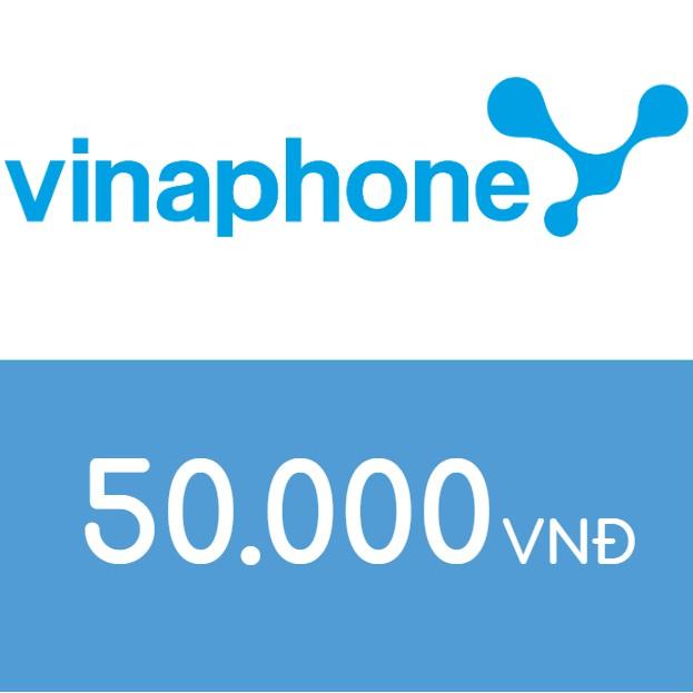 Nạp điện thoại Vinaphone 50K