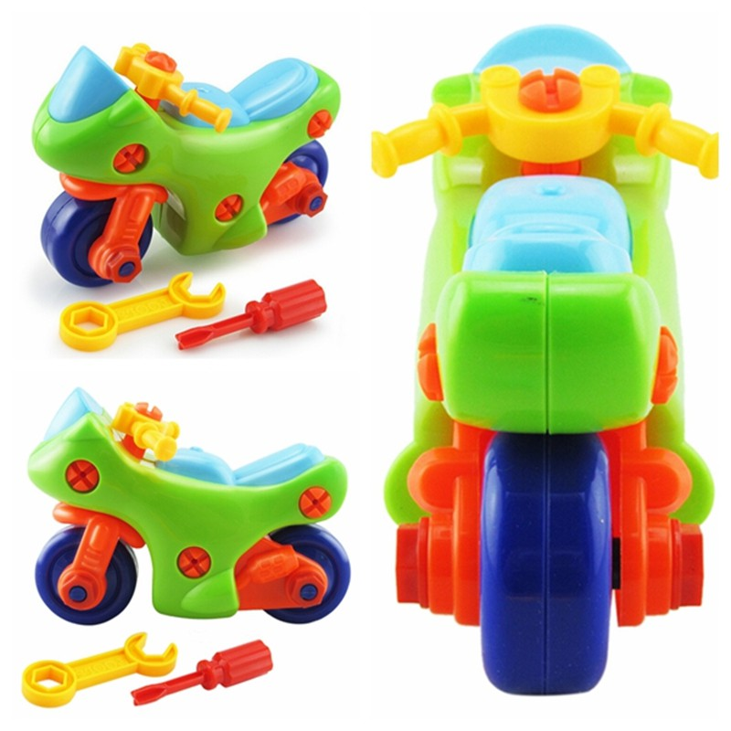 [@VN] Children Kid Baby DIY Disassembly Motorcycle Intellectual Educational Toys Gift